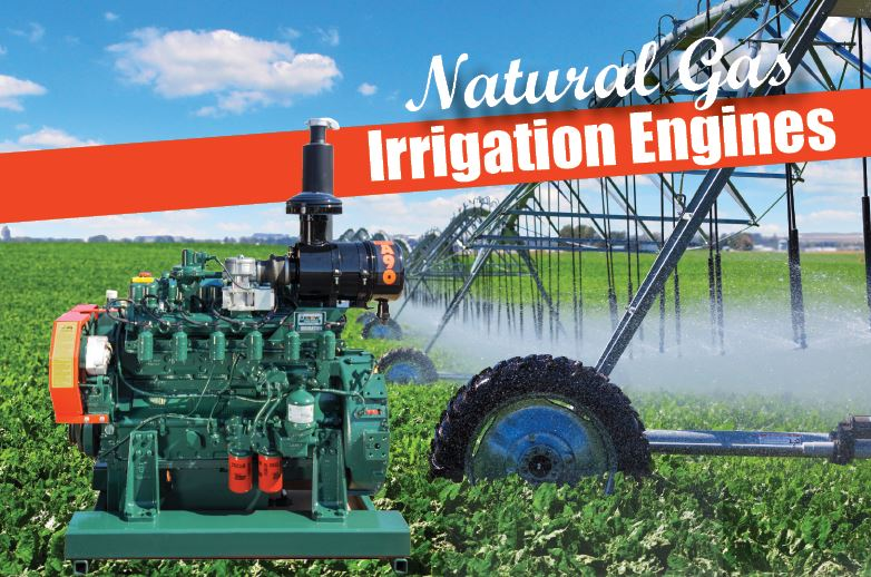 A90 Natural Gas Irrigation Engine
