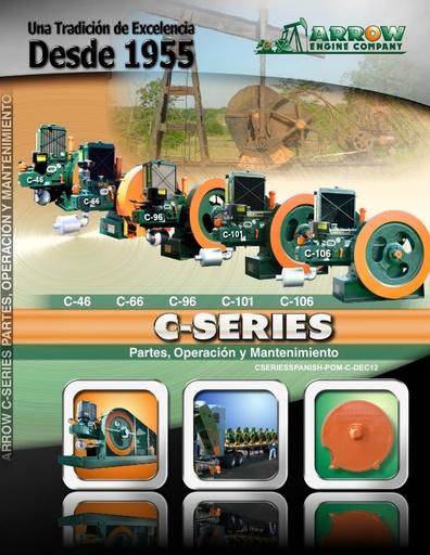 C-Series Parts, Operation & Maintenance - ESPAÑOL